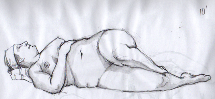 still life drawing. The life drawing sessions I