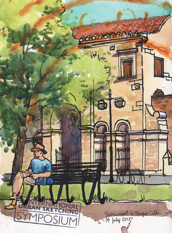 sketchcrawl_parque_colon