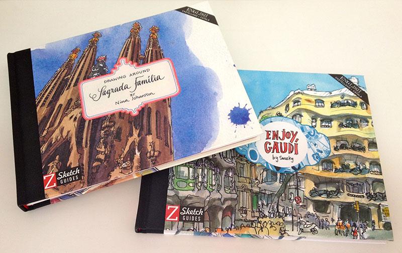 Gaudi and Sagrada Família books