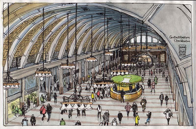 Centralstation Stockholm
